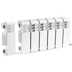 Радиатор алюминиевый 200х100