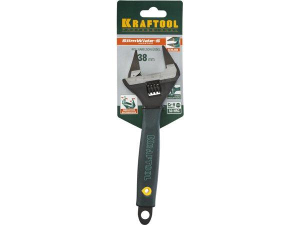 Ключ разводной KRAFTOOL PROFESSIONAL 200mm/8 38мм