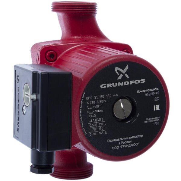 Насос циркуляция Grundfos UPS 25/80