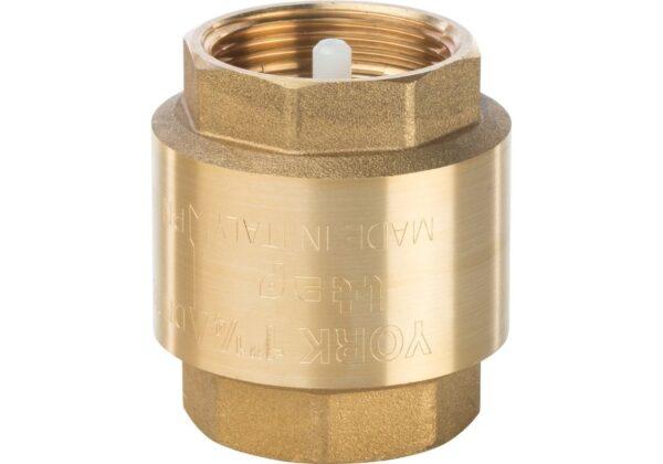 Обратный клапан 1 1/4 латунный