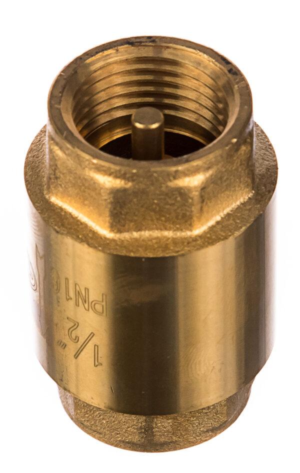 Обратный клапан 1/2 латунный