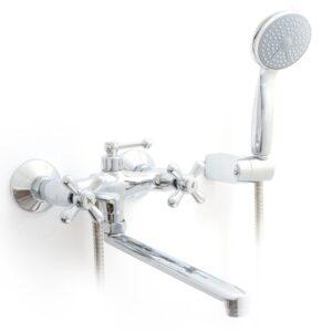 Смеситель для ванны+длинный носик Ledeme L2518