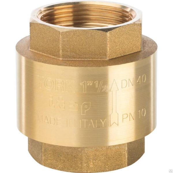 Обратный клапан 1 1/2 латунный