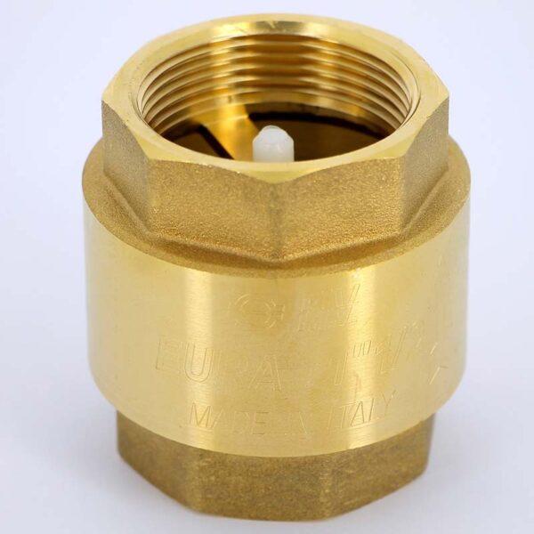 Обратный клапан 1 латунный