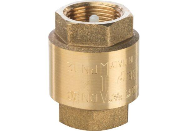 Обратный клапан 3/4 латунный